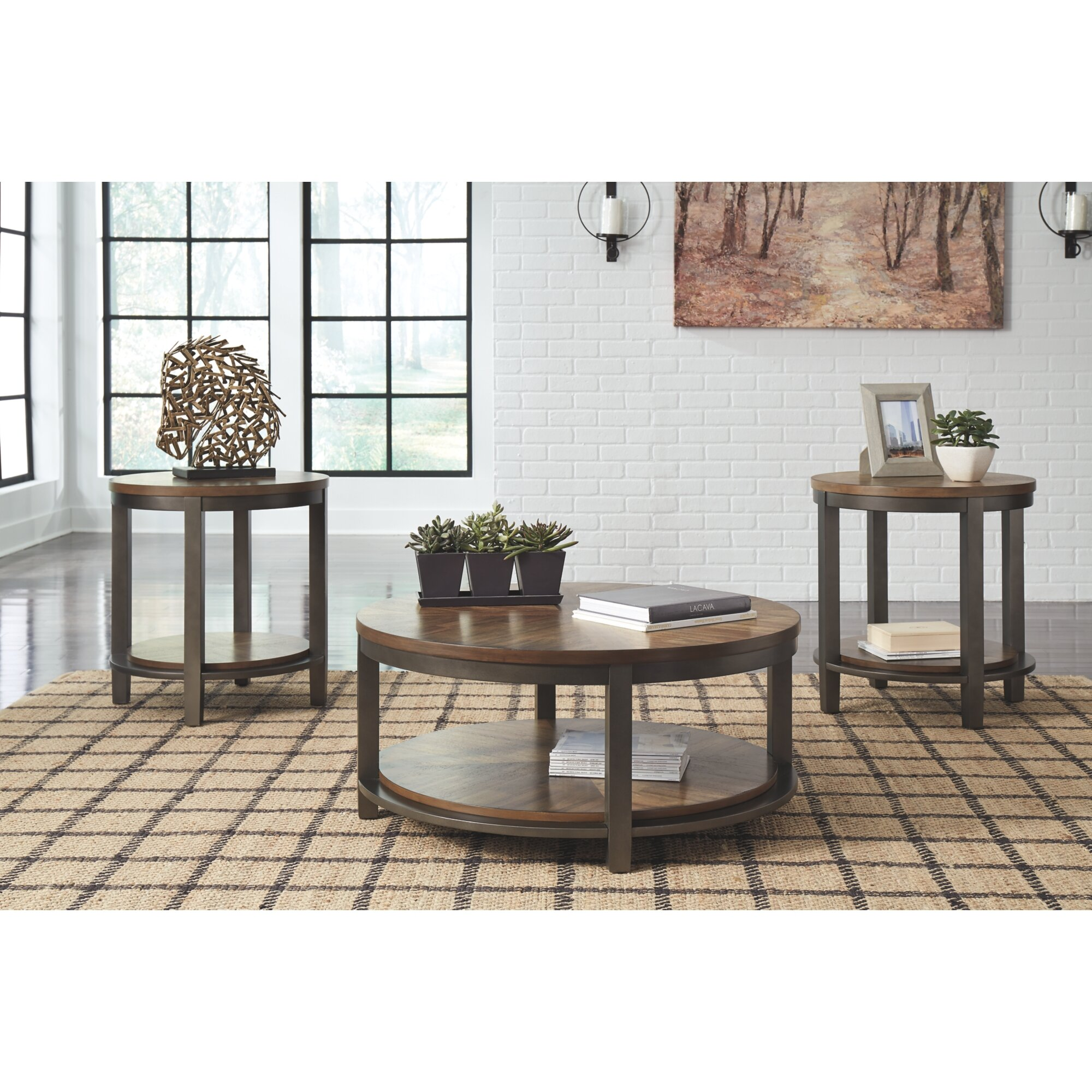 - Williston Forge Richville 3 Piece Coffee Table Set & Reviews Wayfair