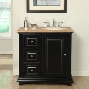 Custom Bathroom Vanities Hamilton right offset vanity all bathroom vanities | wayfair