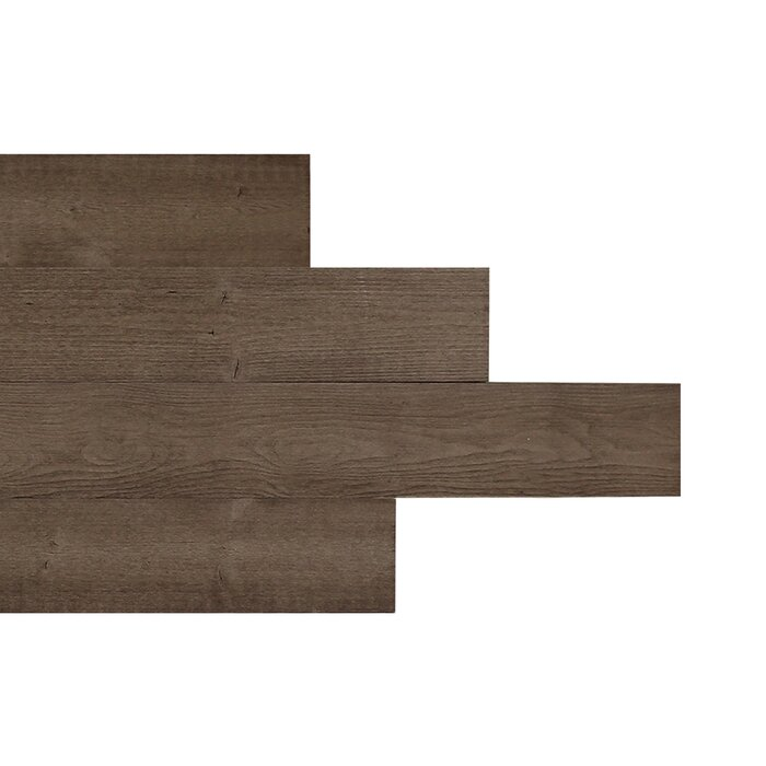Rasch 5 X 46 Reclaimed L And Stick Engineered Wood Wall Paneling In Cedar