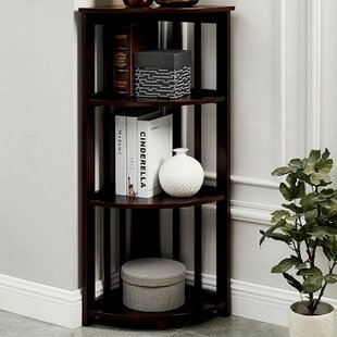 Duane Corner Unit Bookcase By Millwood Pines