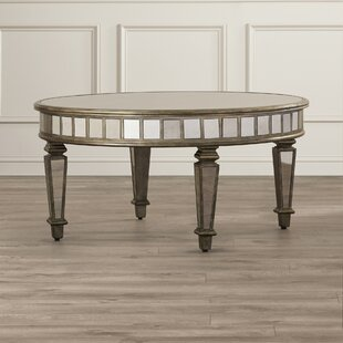 Mercer41 Gestel Mirrored Coffee Table