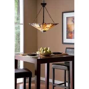 Loon Peak Bush 3-Light Bowl Pendant