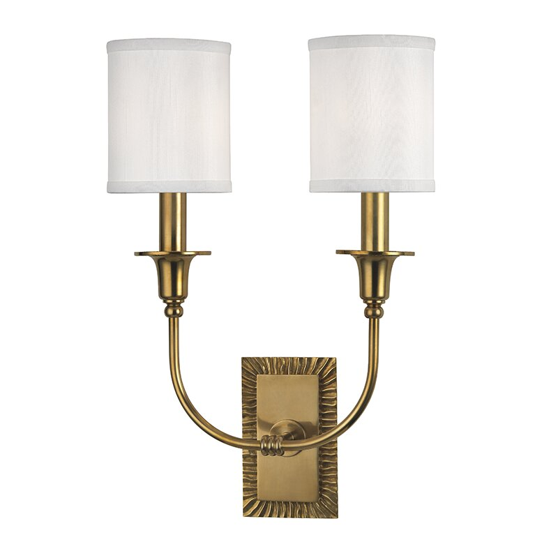 Darby Home Co Erich 2 Light Armed Sconce Wayfair