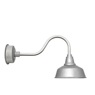 Best Price Goodyear 1-Light Outdoor Barn Light By Cocoweb