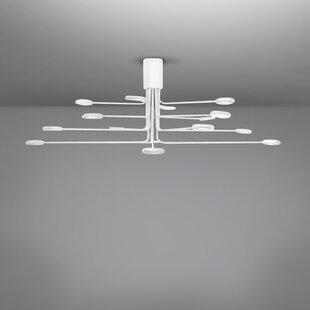 Arbor 16-Light LED Semi Flush Mount by ZANEEN design