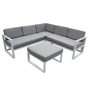 Orren Ellis Riem Sectional with Cushions
