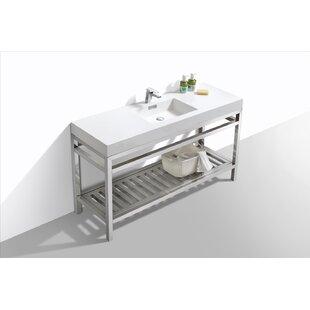 Hammonton 60 Single Bathroom Vanity Set By Wade Logan