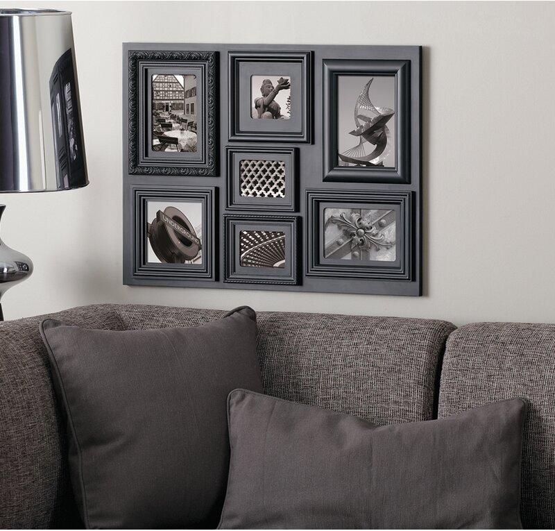 Nexxt Design Fuse 7 Piece Picture Frame Set Reviews Wayfair