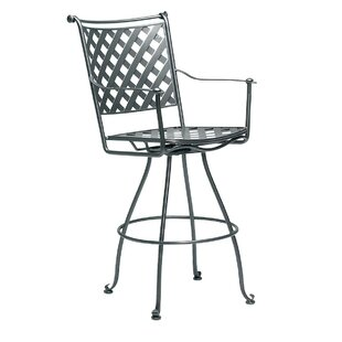 Woodard Maddox Swivel Patio Bar Stool