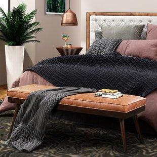 Zakary Upholstered Bench by Foundry Select