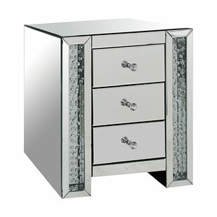 Imala 3 Drawer Nightstand