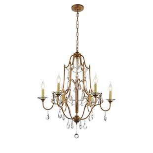 CWI Lighting Electra 6-Light Chandelier