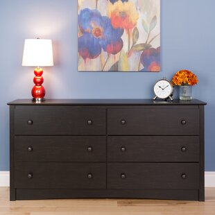 Yards 6 Drawer Double Dresser