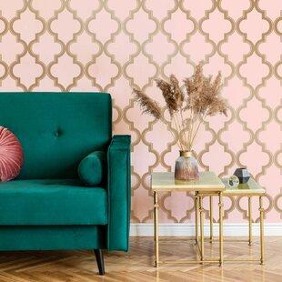 Gold Self Adhesive Wallpaper You Ll Love In 2020 Wayfair