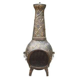 Fire Pits Cast Iron Wood Burning Chiminea By Oakland Living