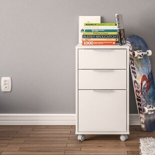 Ebern Designs Castelli 3 Drawer Vertical Filing Cabinet