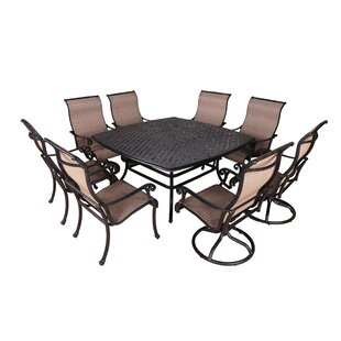 Darby Home Co Kempf 9 Piece Dining Set