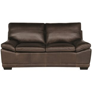 Prescott Leather Sofa by Bernhardt