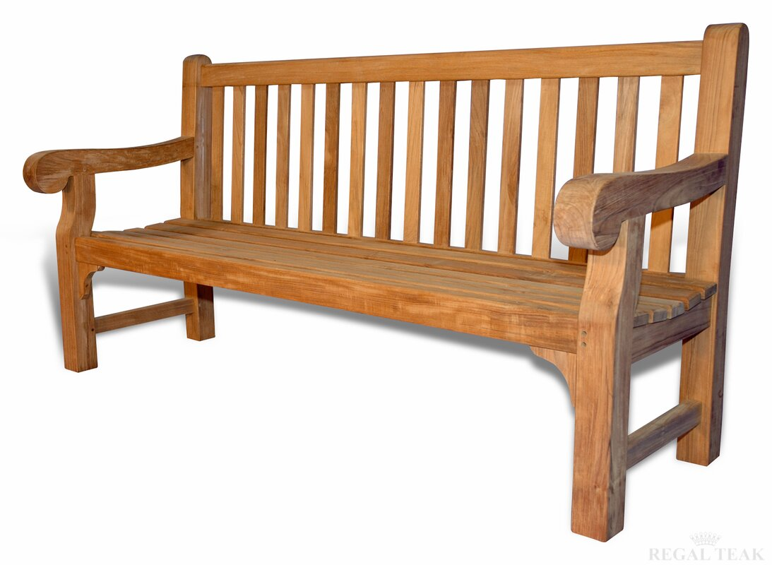 Big Save Teak Hyde Garden Bench By Regal Teak Beautiful