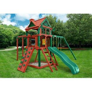 Gorilla Playsets Five Star II Cedar Swing Set