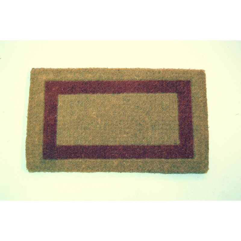 Charlton Home Izzo Single Brick 48 L X 30 W Indoor Only Door Mat Wayfair