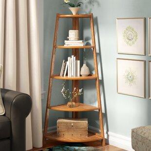 Jeffreys Corner Unit Bookcase by Winston Porter