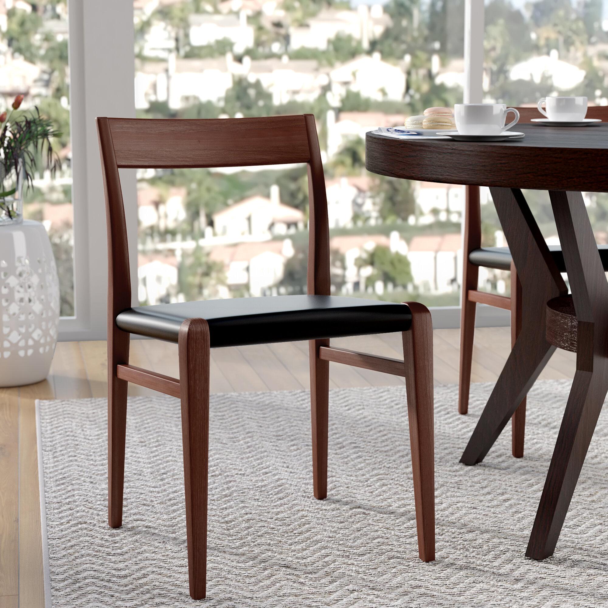 Corrigan Studio Holsworthy Solid Wood Stackingdining Chair Wayfair