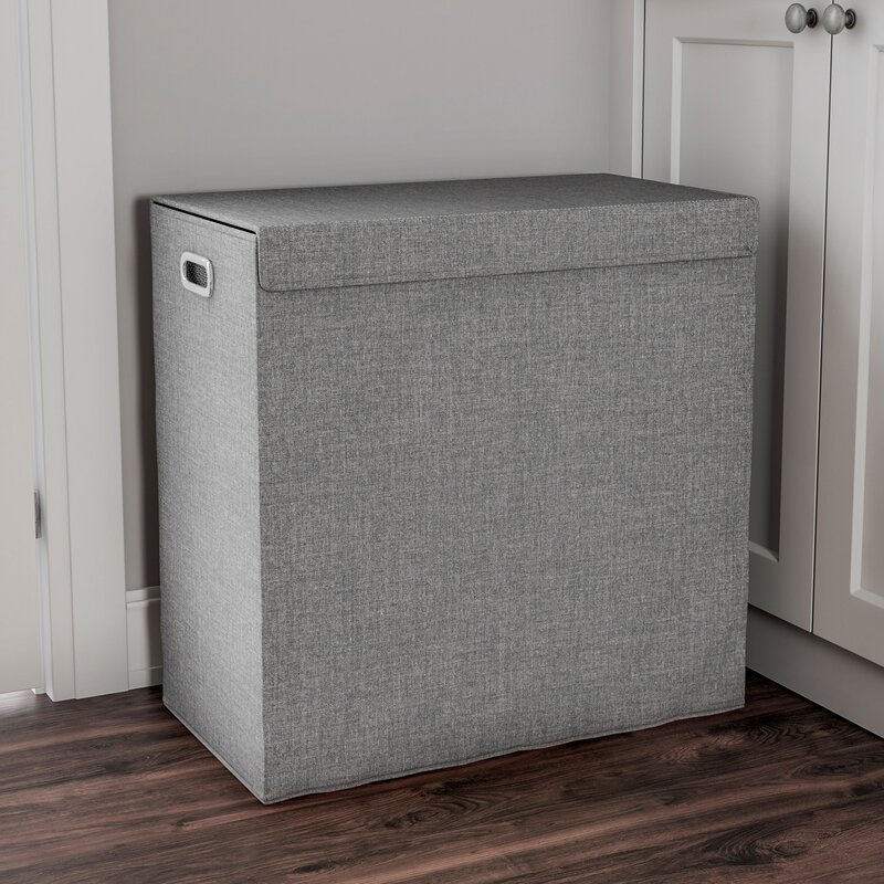 Rebrilliant Double Laundry Hamper With