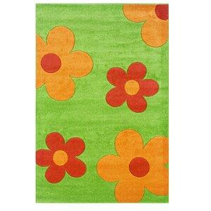 Green/Orange Area Rug