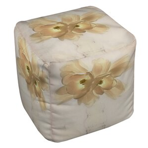 Lovely Tulip Ottoman by Manual Woodworkers & Weavers