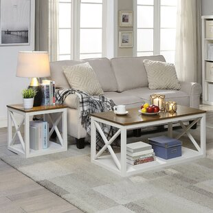 Highland Dunes Southsea 2 Piece Coffee Table Set