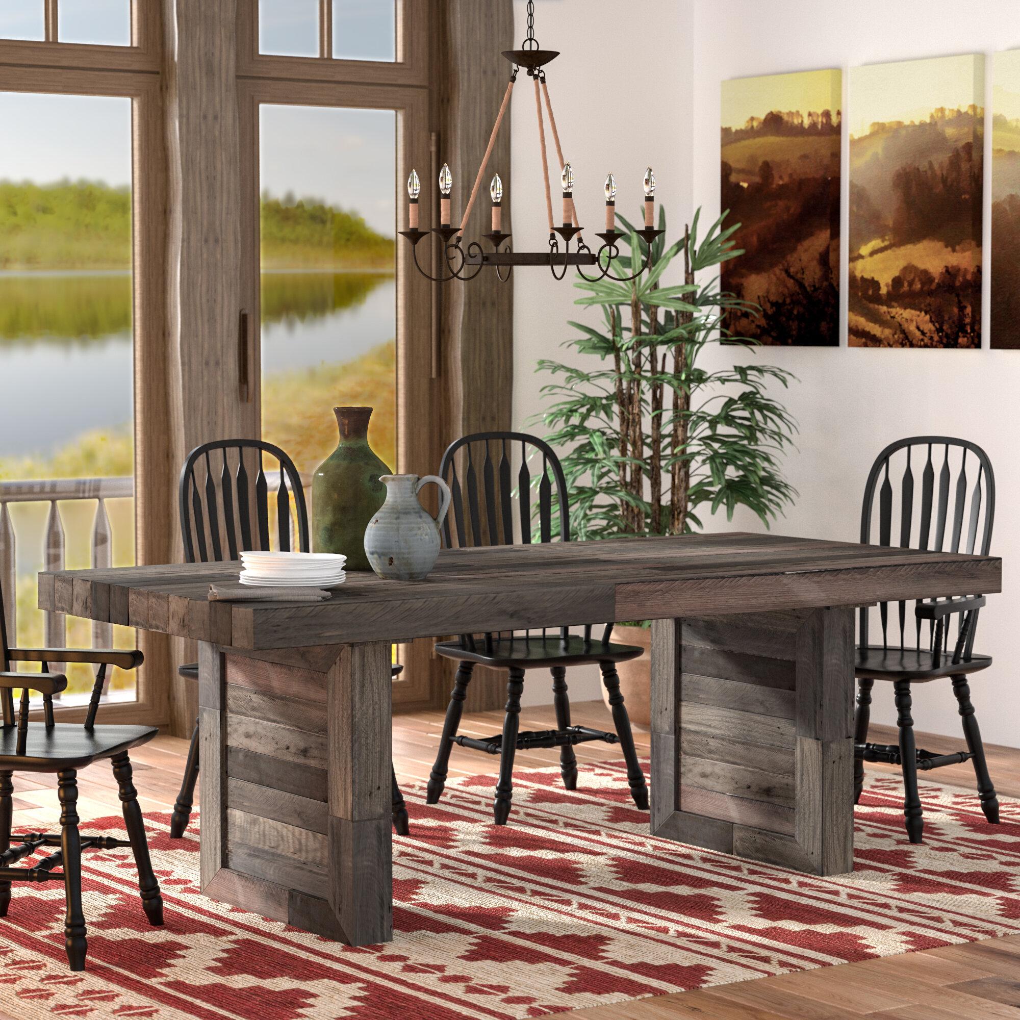 Rustic & Farmhouse Tables You ll Love