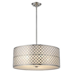 House of Hampton Franco 5-Light Drum Chandelier