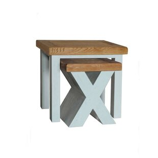 Brentford 2 Piece Nest Of Tables By Beachcrest Home