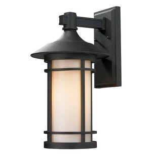 Clearance McKew 1-Light Outdoor Wall Lantern By Bloomsbury Market