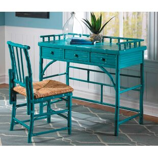 Coastal Chic Petite Writing Desk and Chair Set