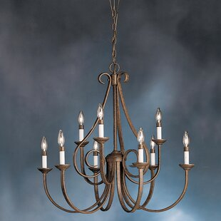 Cayman 9-Light Chandelier