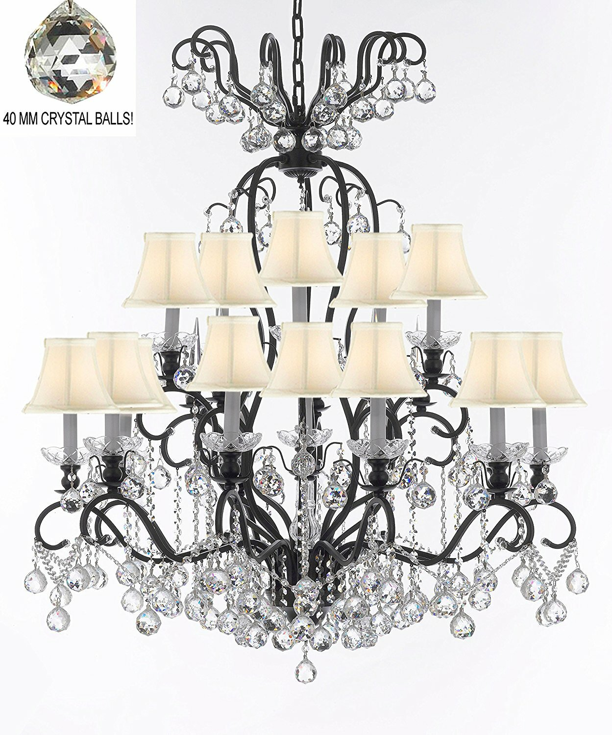 Astoria Grand Maclean 16 Light Shaded Classic Traditional Chandelier With Crystal Accents Wayfair