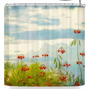 East Urban Home Sylvia Coomes Bird of Paradise Shower Curtain