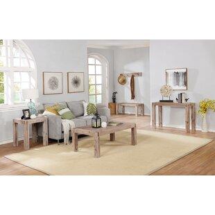 Gracie Oaks Henry 3 Piece Coffee Table Set
