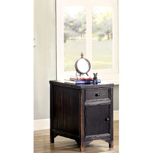 Reck End Table with Storage
