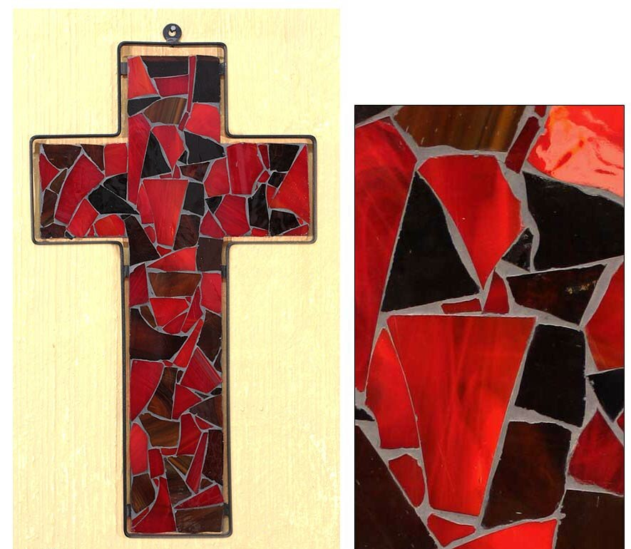 Famous Red Glass Wall Art Ornament - All About Wallart - adelgazare.info