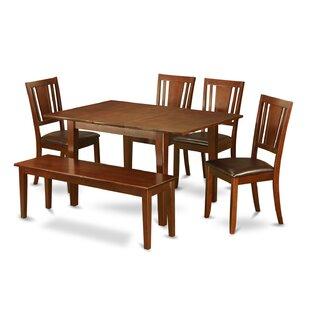Cartley 6  Piece Extendable Dining Set