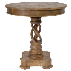 Bengal Manor Mango Wood Twist Accent Table b..