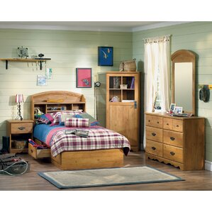 Roslindale Twin Platform Configurable Bedroom Set by South Shore
