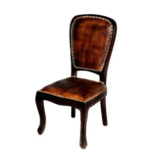 Cullens Genuine Leather Upholstered Dining Chair
