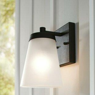 Great Price Centerville Modern 1-Light Outdoor Wall Lantern By Ivy Bronx