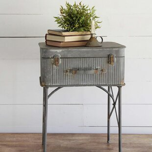 Purchase Devon Suitcase End Table By Foreside Home & Garden