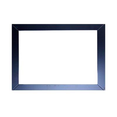 Brayden Studio Piccirillo Rectangle Framed Bathroom Wall Mirror null: null