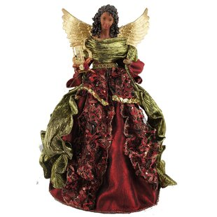 16 african american christmas angel tree topper - Angel Christmas Tree Ornaments
